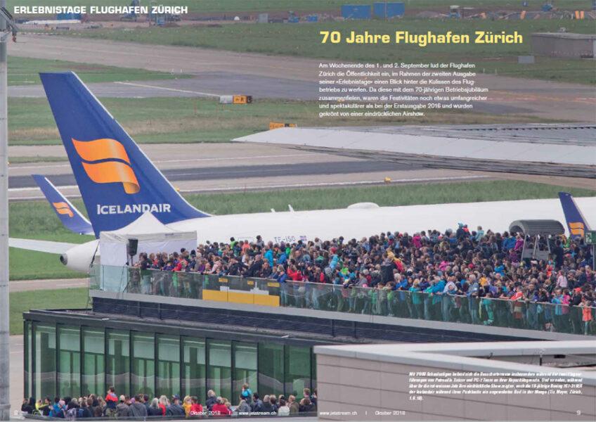 Erlebnistage Flughafen Zürich