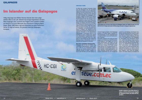 Im Islander auf die Galapagos