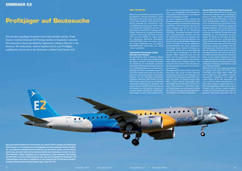 Embraer E2: Profitjäger auf Beutesuche