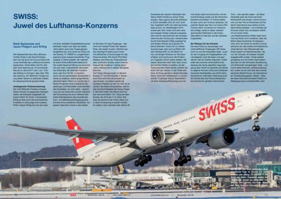 SWISS: Juwel des Lufthansa-Konzerns