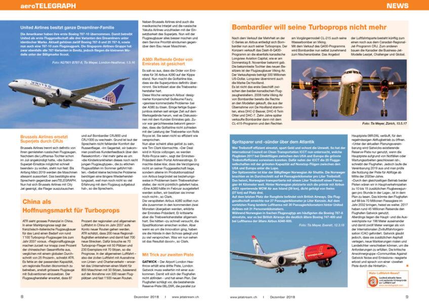 Neu: Partnerschaft mit aeroTELEGRAPH