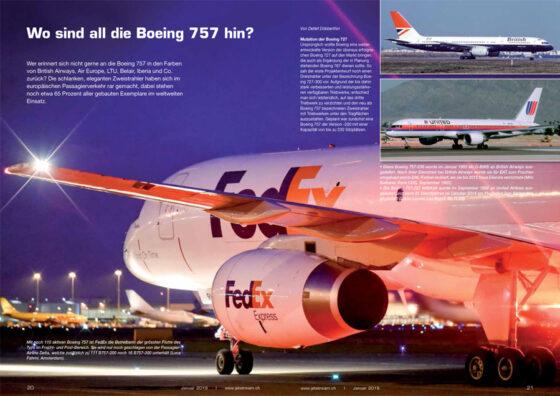 Wo sind all die Boeing 757 hin?