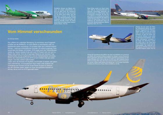Gescheiterte Airlines 2018