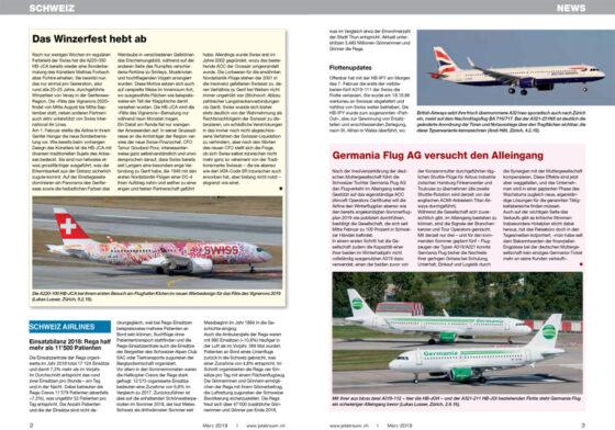 Weltweite Luftfahrt-News