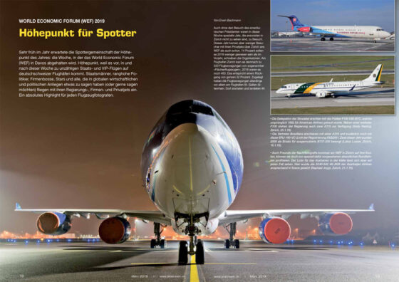 WEF 2019: Höhepunkt für Spotter