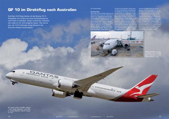 QF10: 17-stündiger Direktflug nach Australien