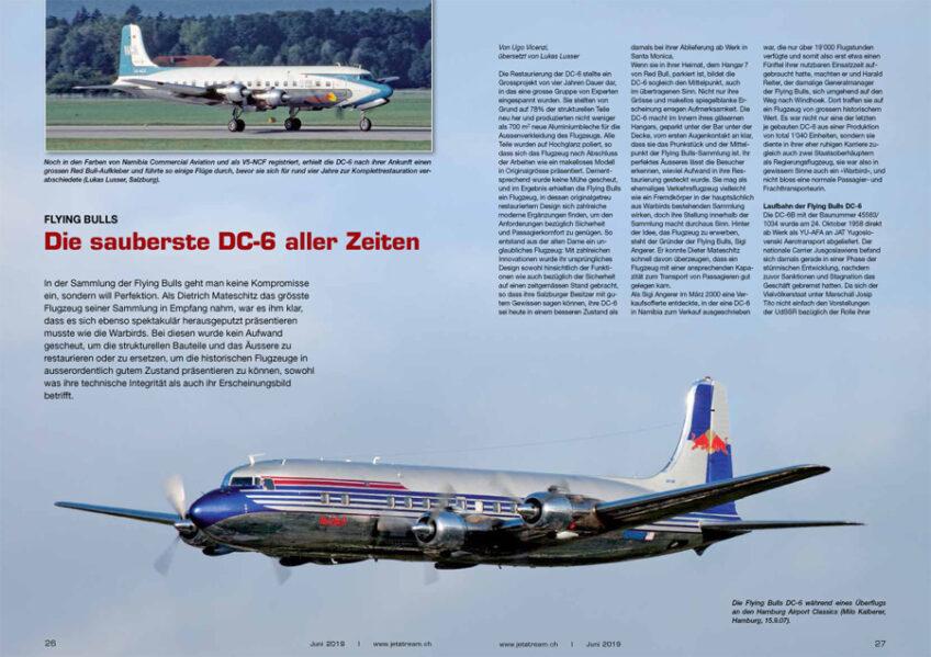 Flying Bulls: Die sauberste DC-6 aller Zeiten