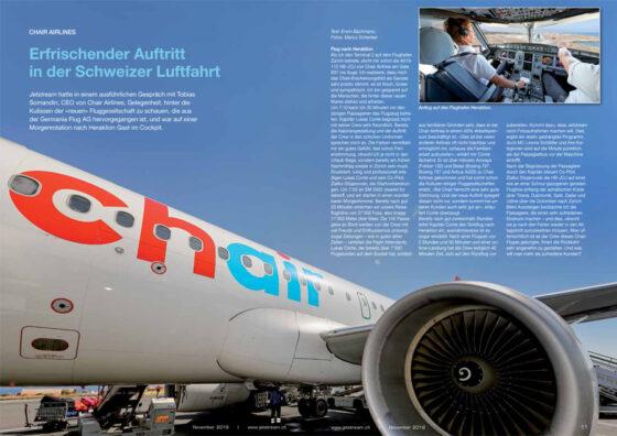 Chair: Erfrischender Auftritt in der Schweizer Luftfahrt