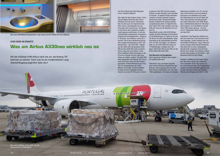 Lissabon im Wandel / Was am A330neo wirklich neo ist