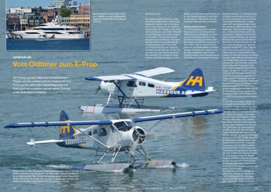 Harbour Air Canada: Vom Oldtimer zum E-Prop