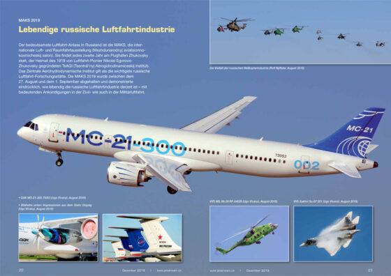 MAKS 2019: Lebendige russische Luftfahrtindustrie