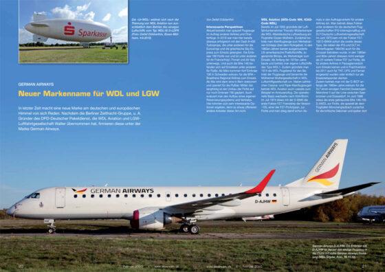 German Airways: Neuer Markenname für WDL und LGW