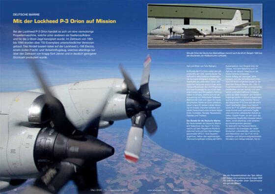 Mit der Lockheed P-3 Orion auf Mission