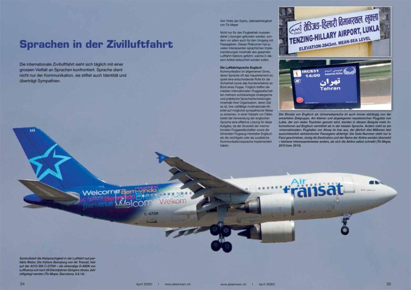 Hintergrund: Sprachen in der Zivilluftfahrt