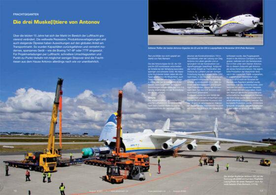 Frachtgiganten von Antonov: Die drei Muske(l)tiere