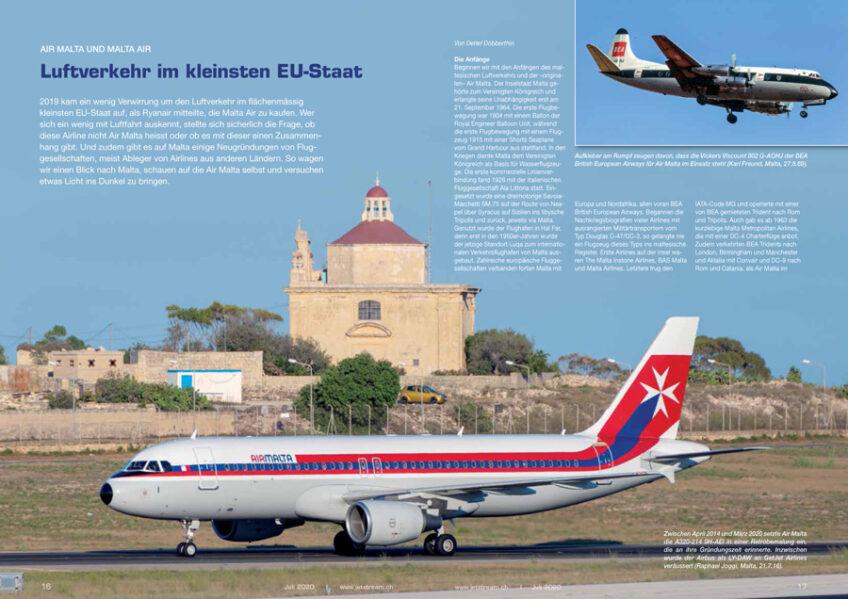 Malta: Luftverkehr im kleinsten EU-Staat