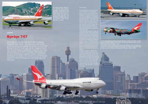 Portfolio: Bye bye, Qantas 747
