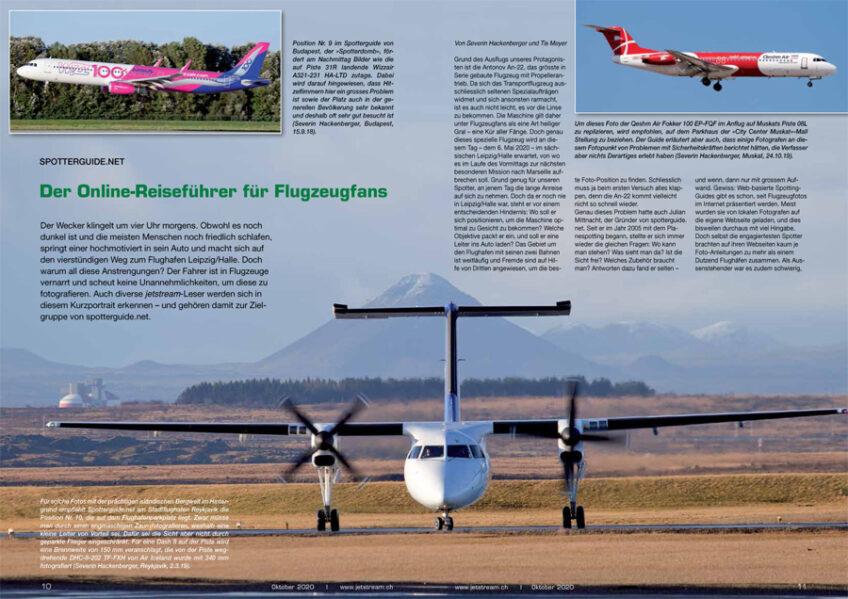 Spotterguide.net – Reiseführer für Flugzeugfans