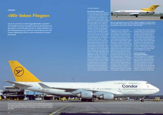 """Condor: """"Wir lieben Fliegen!"""" seit dem Jahr 1957"""