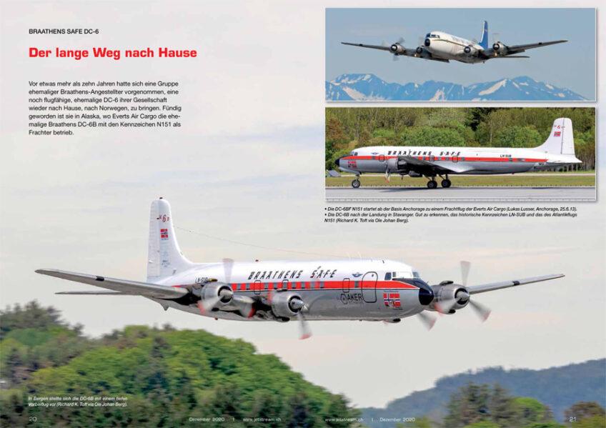 Braathens SAFE DC-6: Der lange Weg nach Hause