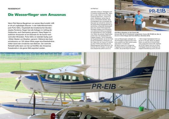 Alas de Socorro: Die Wasserflieger vom Amazonas