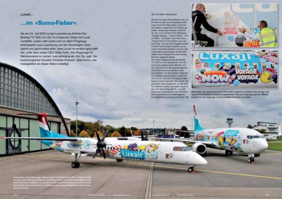 """Spotlight: Luxair im """"Sumo""""-Fieber"""