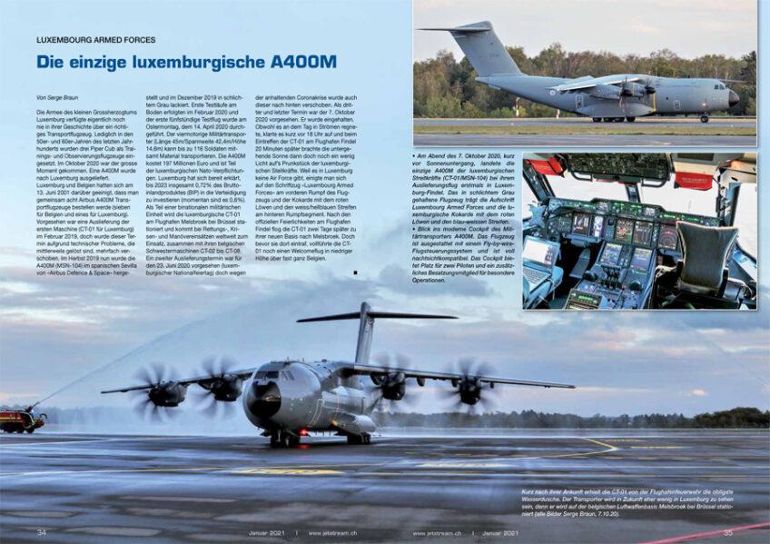 Spotlight: Luxemburgs erste und einzige A400M