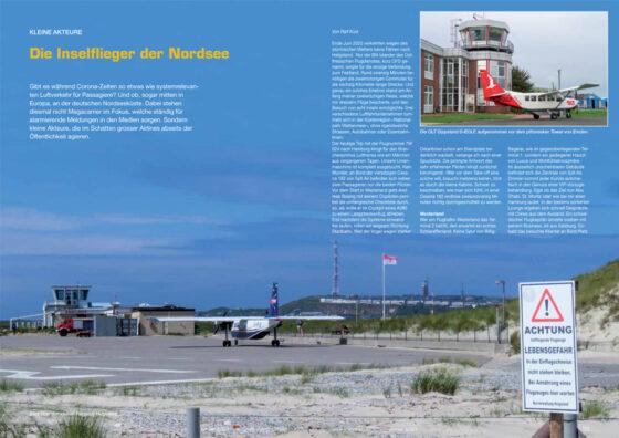 Charmante Flugoperation: Die Inselflieger der Nordsee
