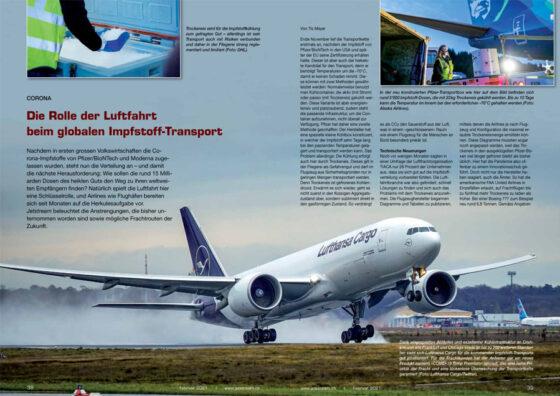 Die Rolle der Luftfahrt beim globalen Impfstoff-Transport