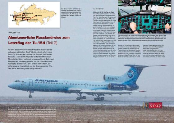 Abenteuerliche Russlandreise zum Letztflug der Tu-154 (Teil 2)