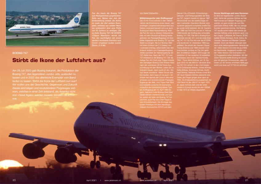 Stirbt die Boeing 747 aus?