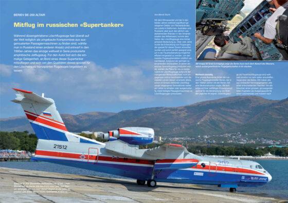 Mitflug im russischen Supertanker Beriev Be-200