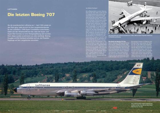 Lufthansa: Die letzten Boeing 707