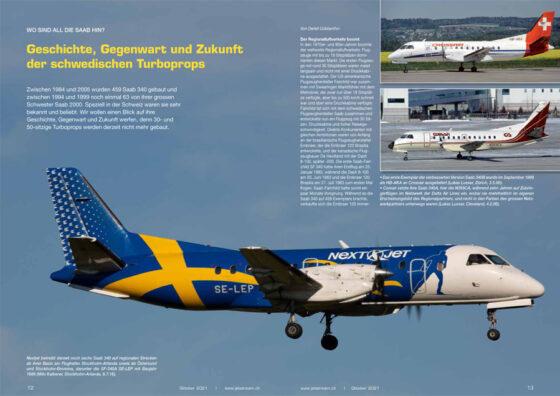 Saab 340/2000: Wo sind sie geblieben?
